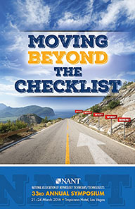 Moving Beyond the Checklist - 2016 Symposium